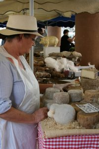 Corsica local cheese maker Ile Rousse