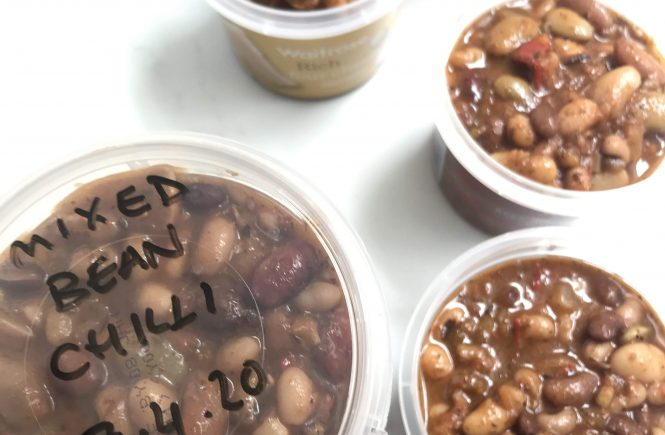 Mixed bean & chipotle chilli